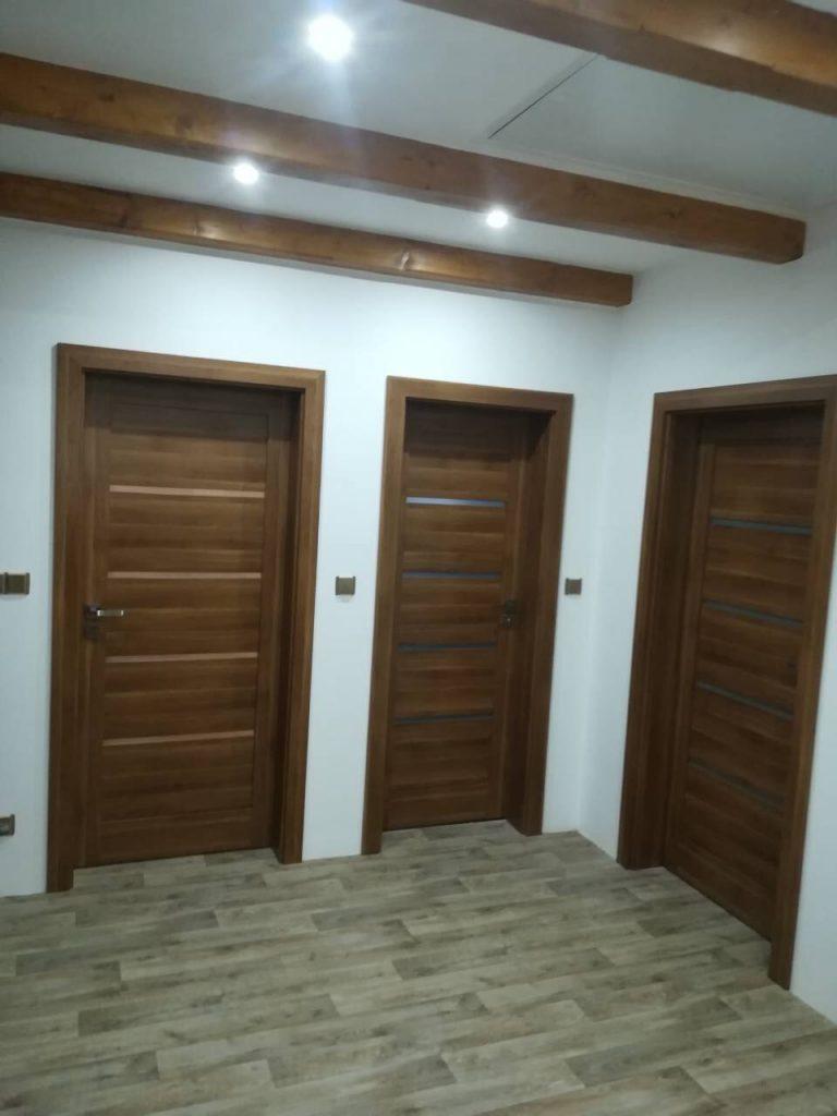 Realizace interierových dveří